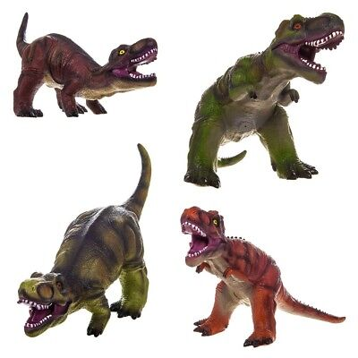21 Inch T-Rex Large Soft Foam Rubber Stuffed Dinosaur Toy Action Play Figure