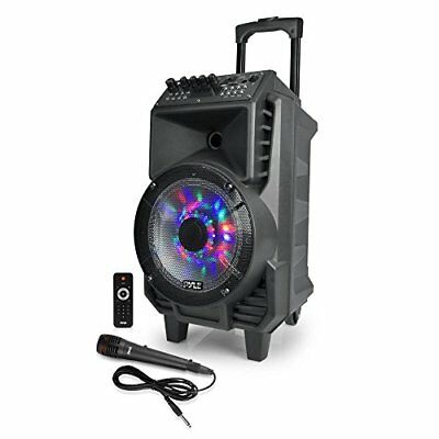 Portable PA Speaker & Mic Bluetooth System (Includes Wired & Headset Mics)
