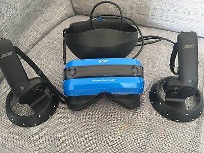 Acer AH101 VR Headset with Motion Controllers, VR-Brille, Controller