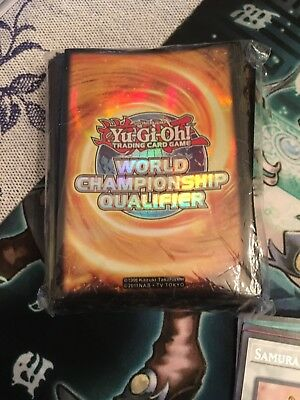 yugioh wcq sleeves Read description!