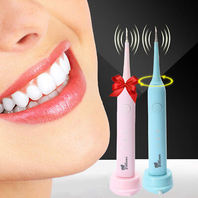 Portable Ultrasonic Dental Scaler Handpiece Cleaning Tartar Stains Remover Tooth
