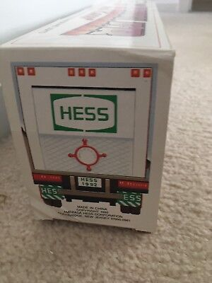 1992 Hess Toy Truck 18 Wheeler and Racer - Original Box
