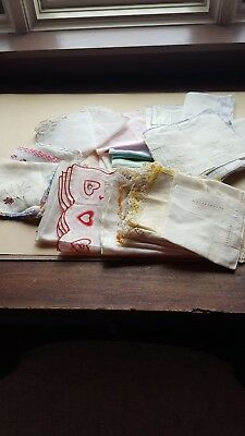 Over 30 Vintage Hankies