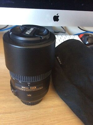 Nikon AF-S 55-300mm 1:4.5-5.6 VR DX G ED Autofocus Lens +  Free UK Post