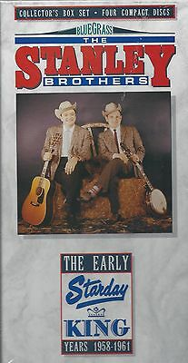 STANLEY BROTHERS Ralph & Carter Early Starday/King Collection NEW 4-CD  Box  Set