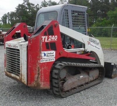 2011 Takeuchi TL240 Tracked Skid Steer Loader w/ Cab! Coming In Soon!