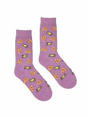 Top-Dog Socks-- Dogs and Pizzas