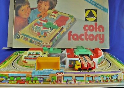 Blech / Tin Track: Technofix Cola Factory 340, Western Germany, 1973, OVP / box