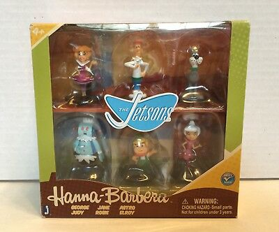 """Jazwares Hanna Barbera The Jetsons Collector 2"""" Action Figure 6-Pack with Rosie"""