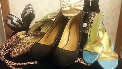 Lot of Womens SEXY HEEL SHOES Size 9.5