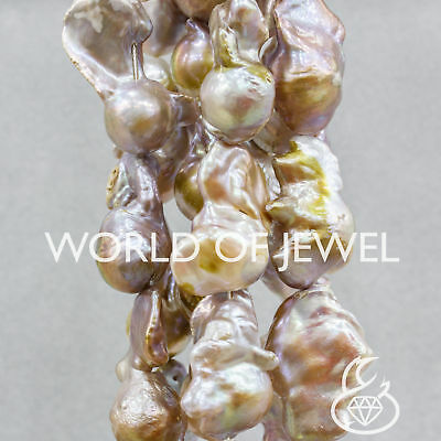 Perle Di Fiume Barocche 110-130gr Lilla World of Jewel
