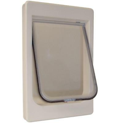 """Ideal Pet Products Chubby Kat Cat Door with 4 Way Lock, 7.5"""" x 10.5"""""""