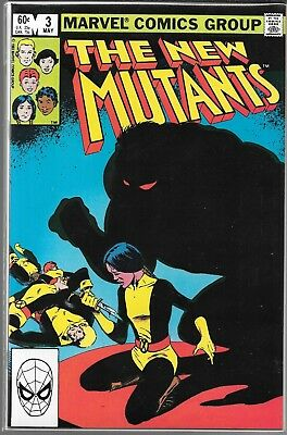 The New Mutants #3 (Nm) 1St Appearance Demon Bear, Bronze Age