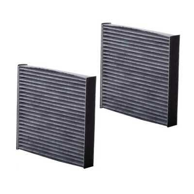 Pair Premium Guard Charcoal Cabin Air Filters fits Lexus Pontiac Subaru Toyota