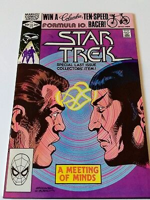 Star Trek special last issue #18 marvel comic 1982