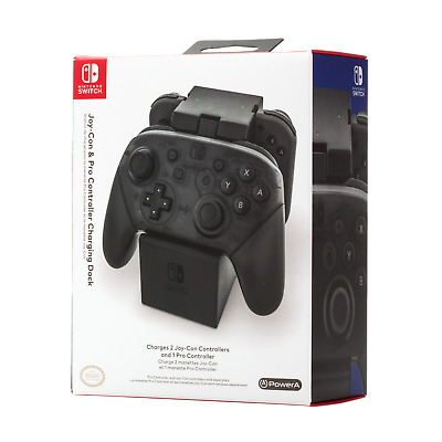 CHARGEUR 1 MANETTE/ 2 jOY-CON Switch (((((( Joy-Cons,Manette  Non inclus  ))))))
