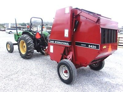 Nice! Case IH 8420 Round Baler ---size 4x4.5    CAN SHIP @ $1.85 loaded mile