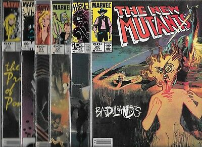 The New Mutants Lot Of 12 - #20 #21 #22 #23 #24 #25 #27 #30 #32 #39 #44 #46 (Fn-