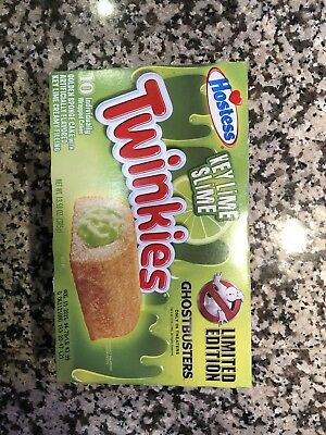 Brand New Hostess Ghostbusters Limited Edition Key Lime Slime Twinkies Sealed