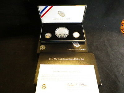2015 March of Dimes Special Silver Set Stock #13