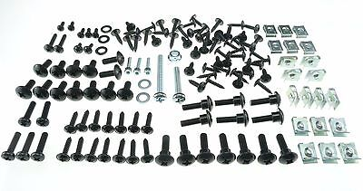 Mega Set Kit Screws Fairing Bolts Gilera Runner Piaggio + Clips - 144 Parts