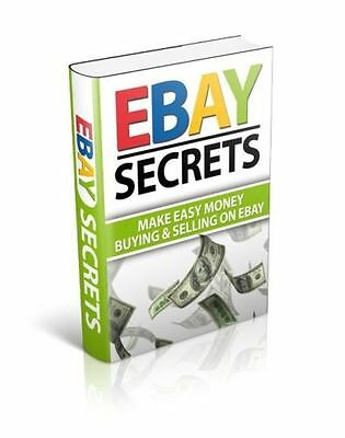 eBay Secrets Includes 10 ebooks based on eBay (eBook/PDF file)