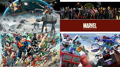 Over 4000 Superhero Villan Images, Marvel, Star Wars, Transformers (ebook/pdf)