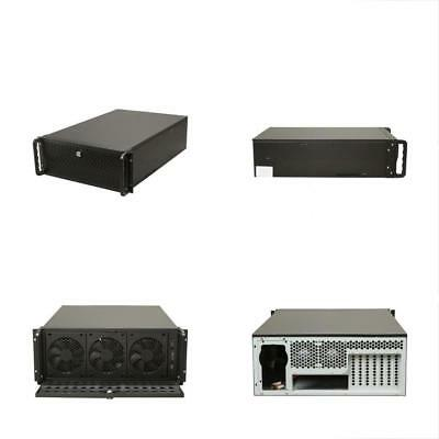 Computer Case Support Metal Rack Mount Server 7 Fans Pre-Installed 4U 15 Bays