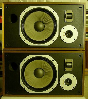 Pair of Vintage Pioneer HPM-40 Speakers for Parts