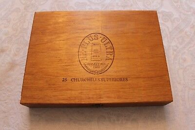 """Rare Vintage 20 Year Collectable Cigar Bands, """"AGED CHURCHILLS"""", Full Box of 25!"""