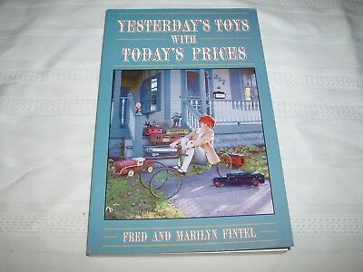 vintage toy pricing guide Yesterdays Toys with Today's Prices 1985