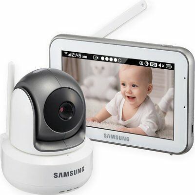 SEW-3043W - Samsung Wisenet BrightVIEW HD Baby Video Monitoring System IR Night