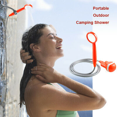 Outdoor Wireless Portable Shower USB Rechargeable Water Pump Camp Hiking Car Van
