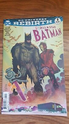 All Star Batman #1, 2016 | VF - NM | John Romita Jr's  VARIANT | DC | Unread