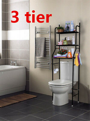 Storage Rack Over Toilet/Bathroom /Washing Machine Shelf Unit Organizer