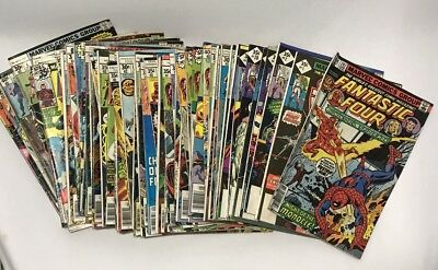 VINTAGE MARVEL COMICS 1970's LARGE LOT of 65 Bronze Age ~ Super Heros Villains