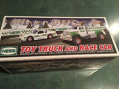 New 2011 Edition HESS Toy Truck and Race Car