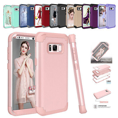 Rugged Hybrid Full Body Shockproof Hard Case Cover For Samsung Galaxy Note 8 S8+