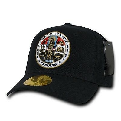 Decky Official LA Los Angeles City and County Seal Caps Hats
