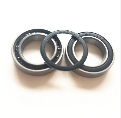 (10pcs) Ceramic Ball(Si3N4) Stainless Steel Hybrid Bearing S6802-2RS (15x24x5mm)