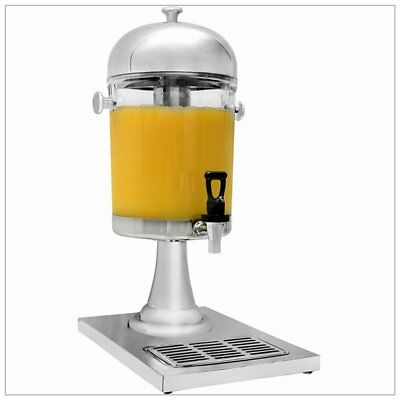 Commercial 8L Restaurant Buffet Stainless Steel Drink Beverage Juice Dispenser
