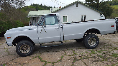 1972 Chevrolet C/K Pickup 1500 Standard 1972 Chevy Original K10 4x4 Longbed 350 engine Daily Driver New Tires Clean Int.