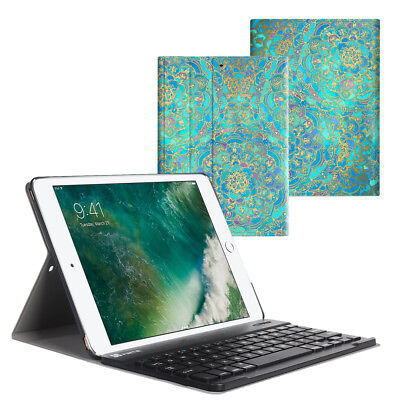 Für iPad 9.7 6th Generation 2018 / 5th Gen 2017 Bluetooth Tastatur Hülle Keybord