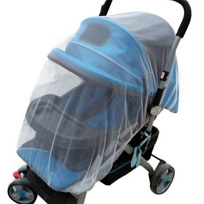 Baby Buggy Pram Mosquito Net Stroller Cot Pushchair Fly Insect Mesh Net Cover