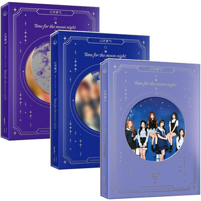 GFRIEND [TIME FOR THE MOON NIGHT] 6th Mini Album CD+POSTER+P.Book+Card SEALED