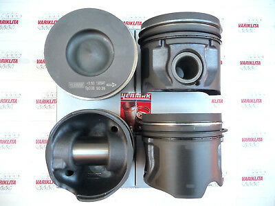 Brand Yenmak;4X Piston With Rings,Fits Ford Transit 2.4Tdci 16V, H9Fa, (+0.50Mm)