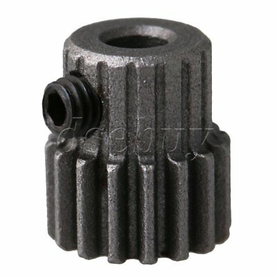 8.8x10mm 45# Steel 0.5 Modulus 16 Teeth Metal Motor Pinion Gear 3mm Bore