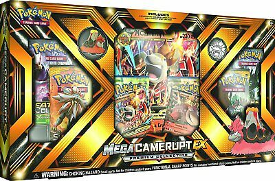 Pokémon Mega Camerupt-EX Premium Collection - english