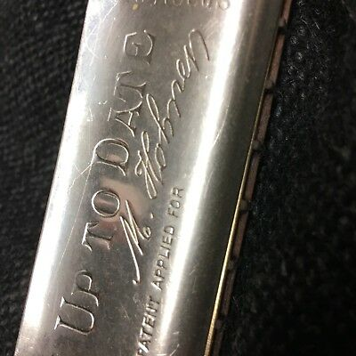 "Collectors Item!  ANTIQUE Hohner HARMONICA  ""Up To Date"" pre 1930 XLNT CONDITION"