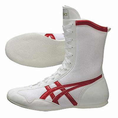New Asics Boxing Shoes MS TBX704 White x Red Unisex Japan Import Fast  Shipping